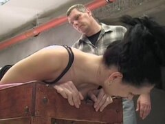 Her pain is real caning video