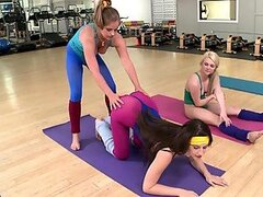 Naughty Yoga Babes Get Some After Class Fun