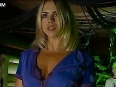 Sexy Billie Piper Walking Around in Tight Pants - 'Doctor Who' Scene