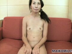 Asian slut spreads her legs...