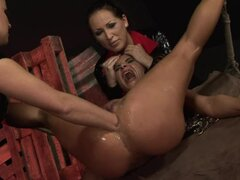 Bonny wakes up and finds herself tied up