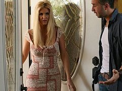 Kieran has a hot girlfriend. But when mommy comes to town she proves too much to resist.