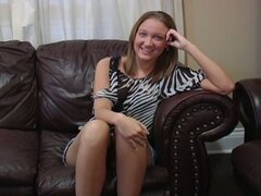 Homemade blonde amateur brittney love dominated lesbian