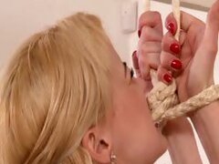 Pale maid gets punished