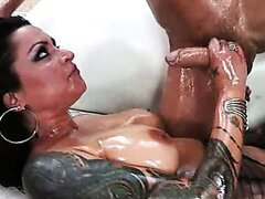 Tattooed babe Nikita Denise gets fucked