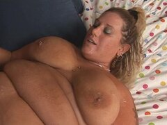 Pierced BBW laid in hardcore video