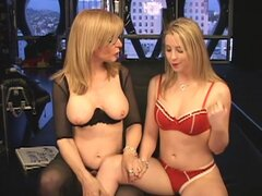 Sexy femdom porn along two beauties