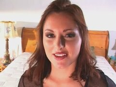 Hot brunette with nice boobs has sex and gets a facial..RDL