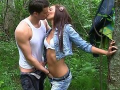 Outdoor Sex With Skinny Girl...