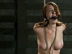 Sophia Lauryn-Tested YL First Timer Experiences Real Bondage and Intense Orgasms!