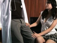 CFNM femdom finds her subject and dominates him