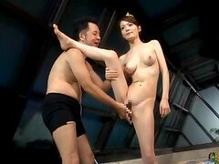 Japanese Acrobat girl is having amazing sex