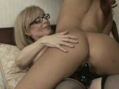 Girl on girl action with angela stone