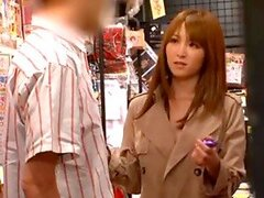 Miku Ohashi has some naughty banging in a book shop