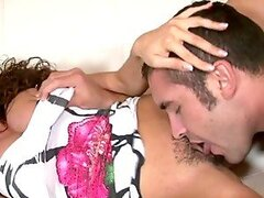 Ariella Ferrera the busty MILF gets fucked and facialed