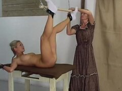 Colonial girl whipped for misbehavior