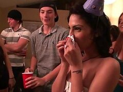 Lots of Hardcore Sex in Birthday Party