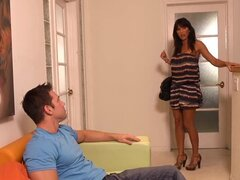 MILF babe Lezley Zen is out on the prowl for fresh cock