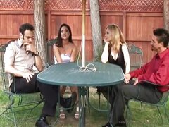 4some: Nina Hartley & Stephanie Swift Swap