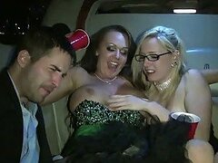 Wild Group Sex Orgy In Prom Night