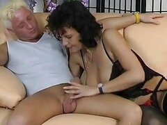 Pierced older German gets pounded  Inferno Productions