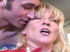 Horny mom fucked by young dude