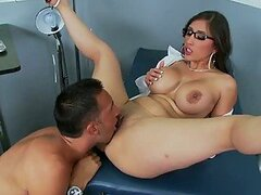 Brunette Doctor On High Heels Alexis Breeze Loving the Big Dick