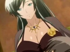 Anime milf with big milky boobs