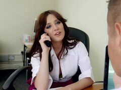 Office lady likes to get nasty