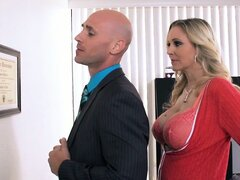 Julia Ann makes out with her boss...
