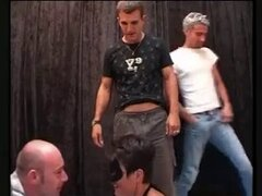 Amateur wife Valerie fucked in a gangbang, part 1