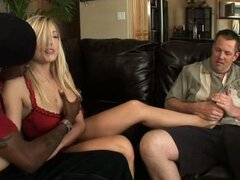 Kylee reese forcing cuckold husband to watch her fuck black dude