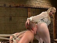 Torturing a Male Slave with Pins is just the Beginning