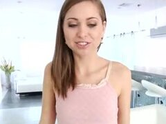 Gorgeous pornstar Riley Reid big cock hardcore