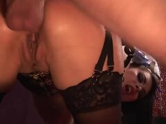 Gorgeous Tera Patrick gets ass fucked from behind