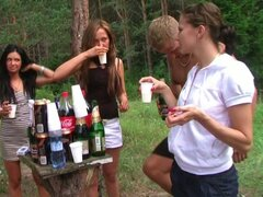 Kinky Group Picnic Outdoors