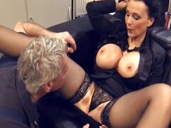 Michaela O'Brilliant -Mature fucked in Office