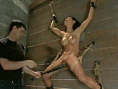 Drop Dead Gorgeous Babe Tied Up and Fucked Hard