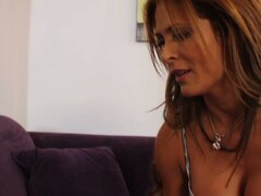 Lustful exotic MILF Monique Fuentes blows massive cock