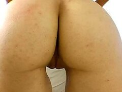 Amber Rayne Shows Her Beefy Pussy Through A Camel Toe