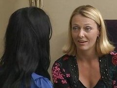 Two mature lesbian mommas having girl on girl...