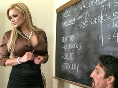 Arousing blondie in dirty fuck
