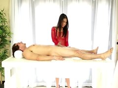 Asian sex therapist masseuse babe