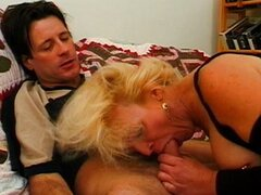 Nasty mature anal fuck is deep