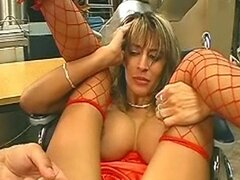 hot milf get rough kinky anal action and eat cum