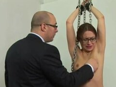 Punished by her boss