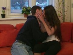 Euro teens sexy softcore kissing and oral sex