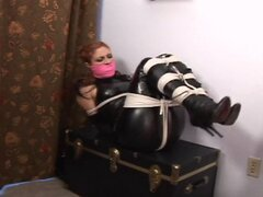 hot woman tied tight