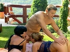 Michelle Monica Cameron anal threesome