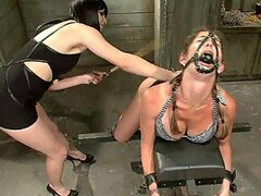 Extreme Lesbian Domination For a Submissive Blonde